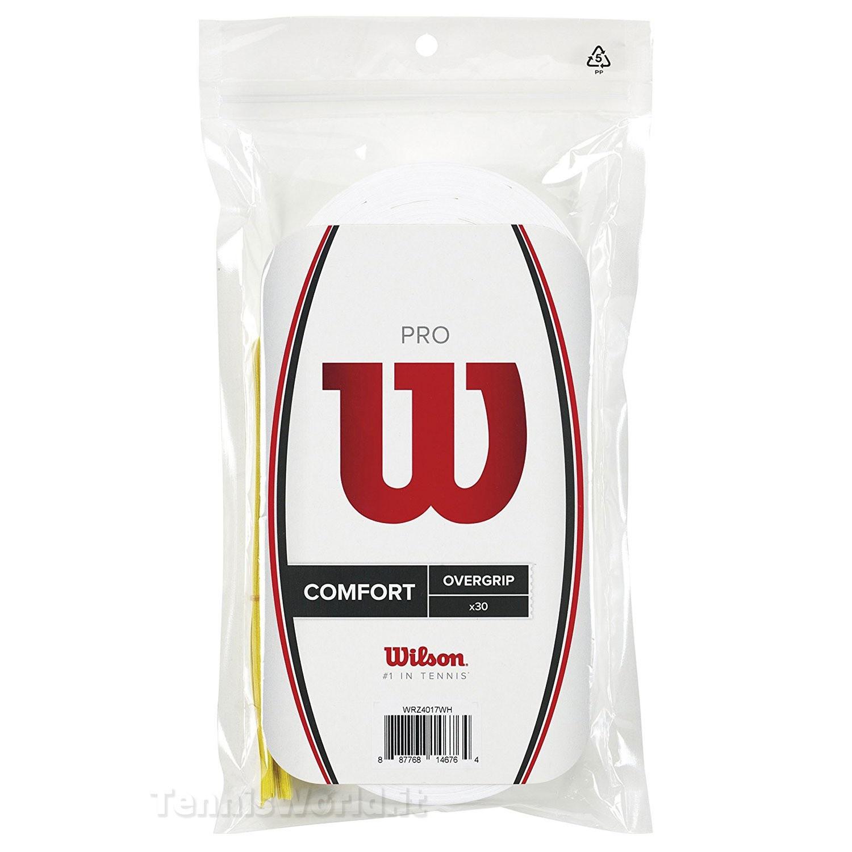 Wilson Pro Overgrip White 30 Pack
